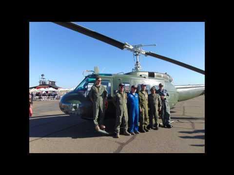 2016 California Capital Airshow - Vietnam War UH-1H Huey on display