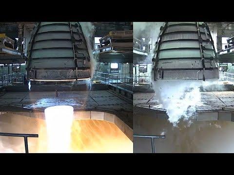 SLS RS-25 Engine Test, 21 February 2018