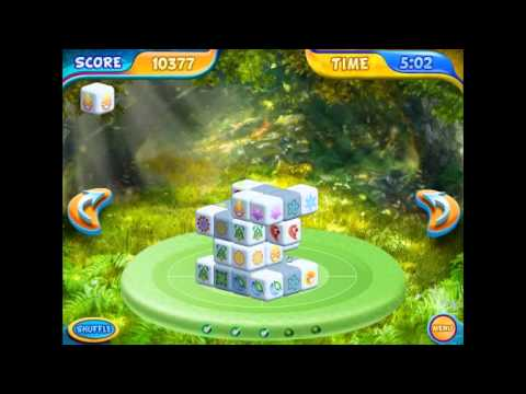Mahjongg Dimensions Deluxe: Tiles in Time (Mahjong Game from Big Fish)