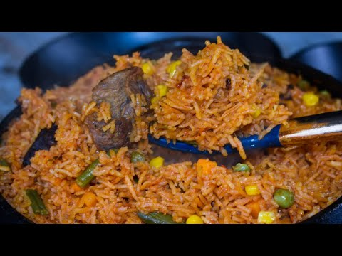 How To Prepare The Perfect Beef And Vegetables Jollof Rice
