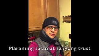 Chatmate Ko (Karaoke with lyrics) - Chino Romero