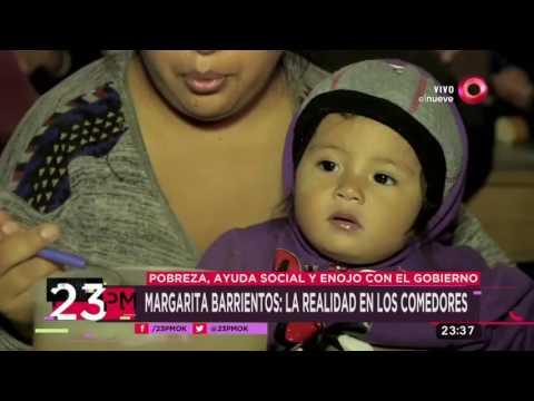 Margarita Barrientos: La realidad en los comedores