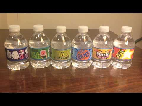 Jon Drinks Water #3787 Market Pantry Purified Drinking Water VS Nestle Pure Life