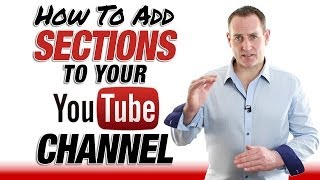 vuclip How To Add Sections To Your YouTube Channel