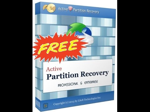 active partition recovery with crack