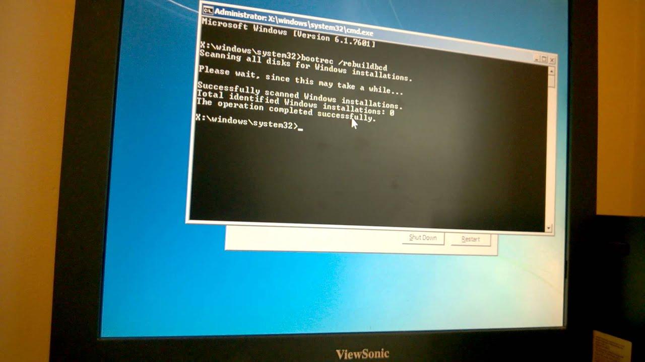 Windows 7 autofailover bad driver