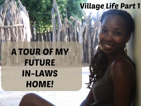 African American Visits Her In-Laws' Namibian Village Part 1