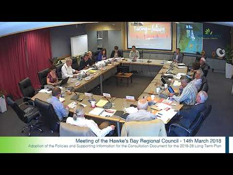 HBRC Chief Executive introduction to Long Term Plan 2018-28
