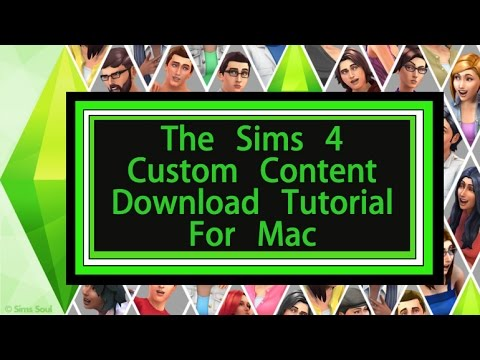 How To Download Custom Content For Sims 4 Mac