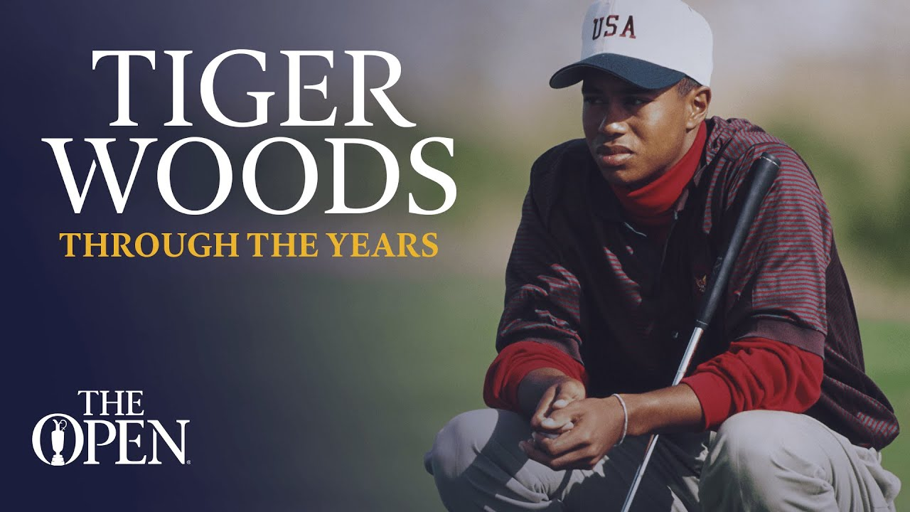 Tiger Woods | Through the years