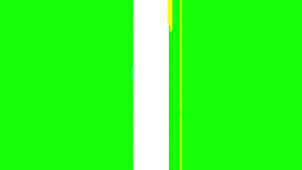 Green Screen Transition – Decent Glitch Effect