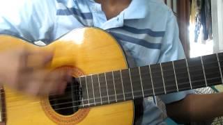 Kaze ni Naru cover guitar Hoang