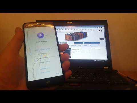 Сброс Google аккаунта Huawei P8 Lite