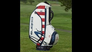LIMITED EDITION US OPEN 2019 PATRIOT PACK COBRA PUMA X VESSEL GOLF STAFF BAG