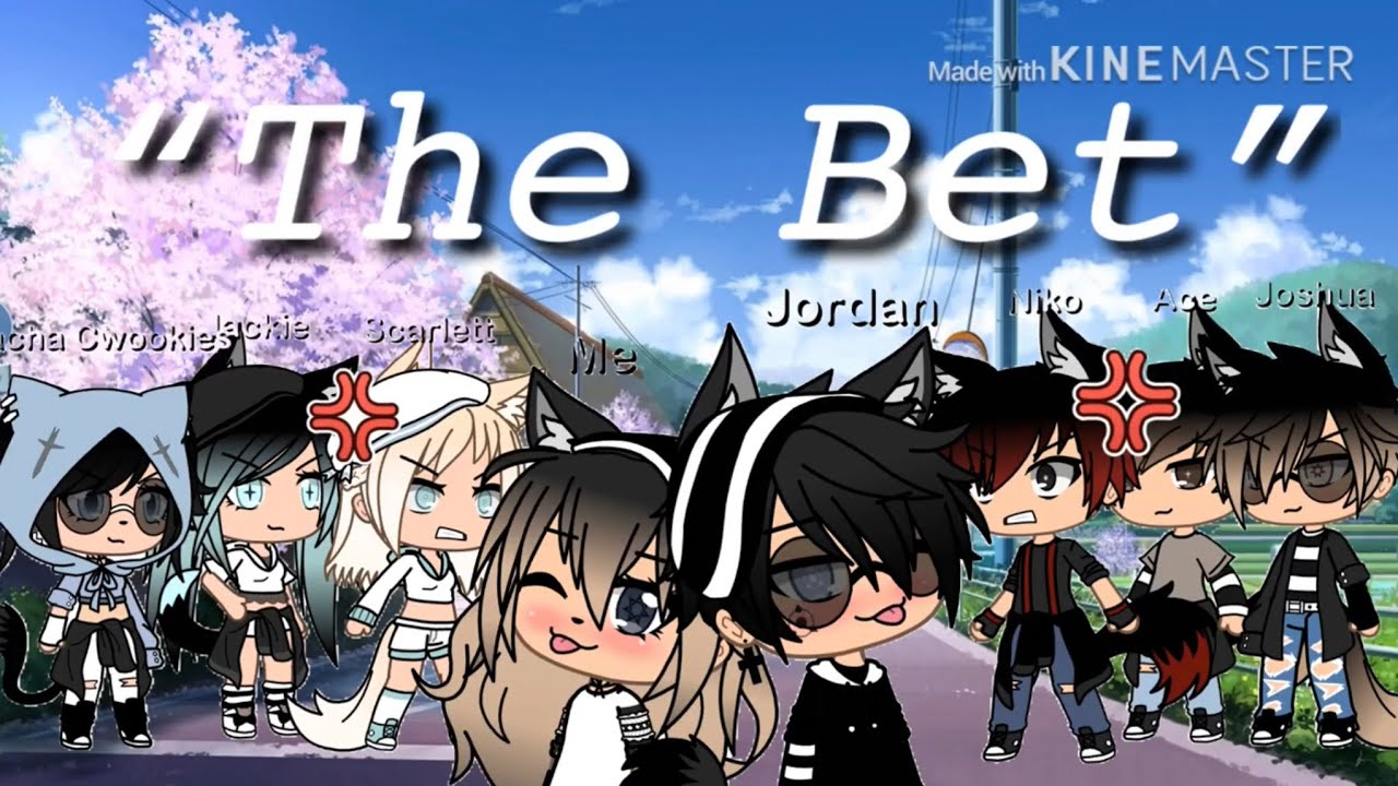 """Download """"The Bet"""" Glmm by *Gacha_Wølfy* (Kinda Inspired by ClumsieBerriee) {Read Description}"""