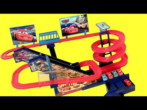 Disney Pixar Cars Super Racing Musical Ultimate Race Track