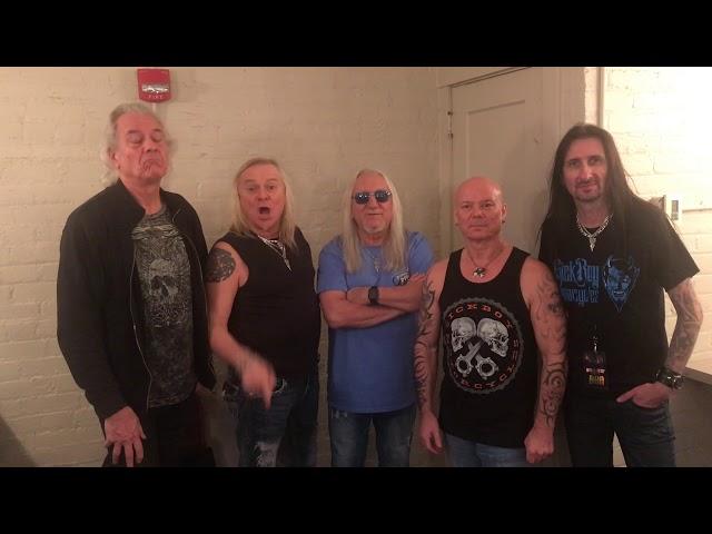 ¿ Tenéis ganas de ver a Uriah Heep en el festival ?