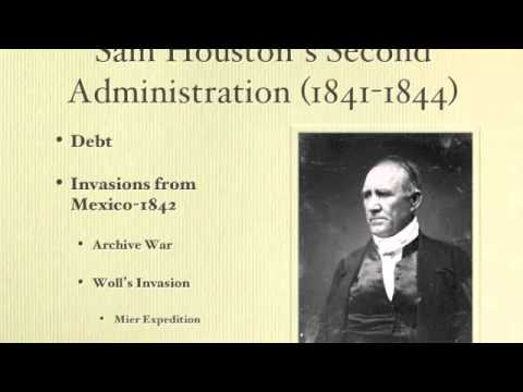 Texas History Lecture 6: The Republic of Texas - Preuss