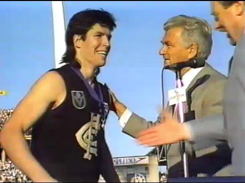 'Captain Kernahan' - 1997 Stephen Kernahan Carlton AFL football video