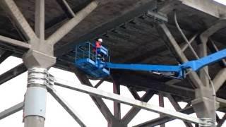 GENIE - Utilización en puente plataforma articulada