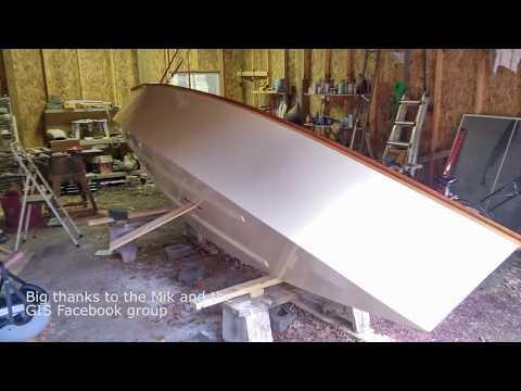 Goat Island Skiff Hull Build 2017