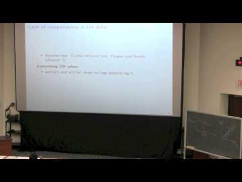 Statistics for Engineers - Class 06B - 4C3-6C3 2014