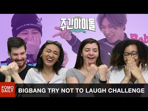 Thumbnail: BIGBANG on Weekly Idol Try Not To Laugh Challenge • Fomo Daily Reacts