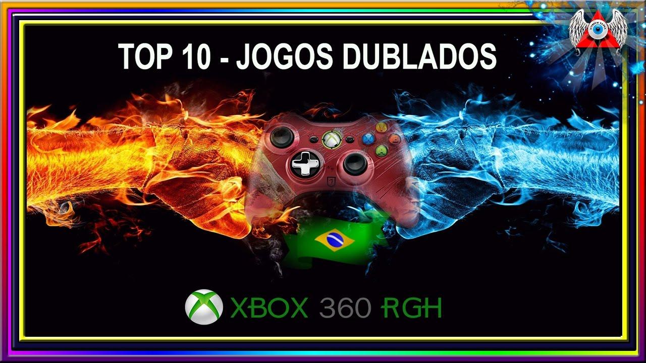 [ TOP 10 ]  • Jogos 100% dublados em Português/Brasil • Para Xbox 360 RGH