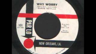 Watch Aaron Neville Why Worry video