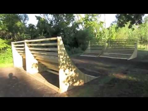 Backyard Bmx Ramps building backyard bmx ramps! day one - youtube