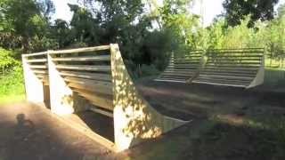 Building Backyard Bmx Ramps! Day One