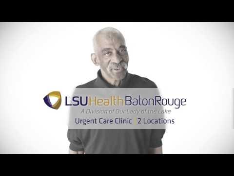 LSU Health Baton Rouge Urgent Care Clinics