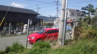 竪堀~入山瀬駅、身延線、進行方向左側車窓から/Tatebori~Iriyamase