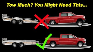 Weight Distribution Hitches Explained  - How They Work, Why You Need One