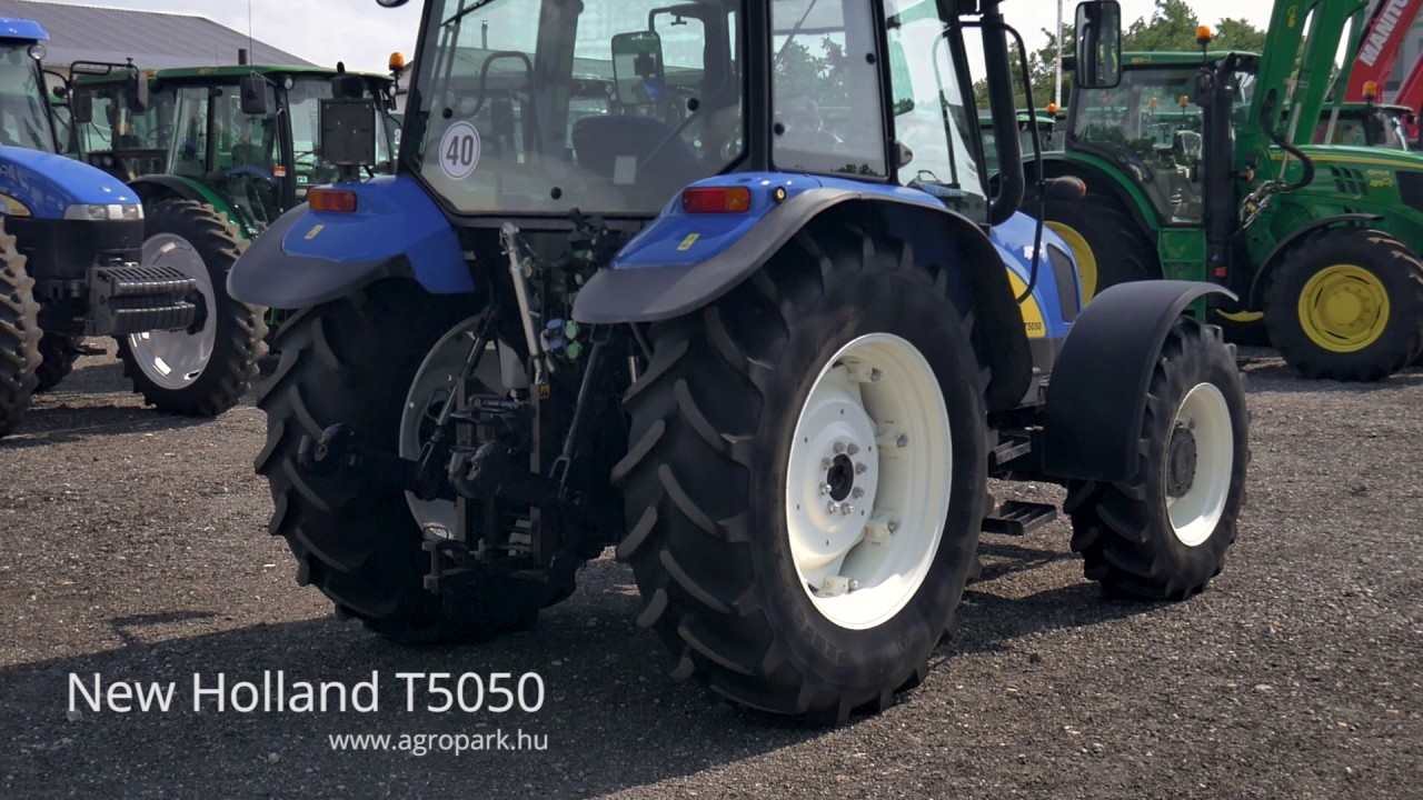 New Holland T5050 (2010) - YouTube