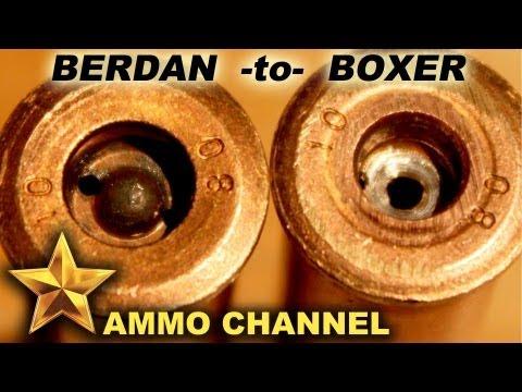 can berdan primed ammo be reloaded crack