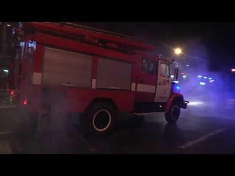DSNSKHM: Рятувальники у взаємодії із правоохоронцями провели дезінфекцію вулиць обласного центру (РОБОЧЕ)