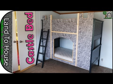 Castle Bunk Bed Build DIY