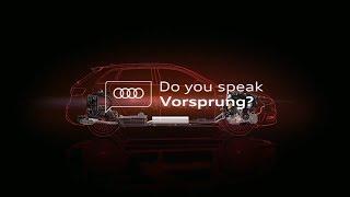 Sprichst du Vorsprung?