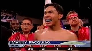 Manny Pacquiao vs Emmanuel Lucero - HBO Boxing After Dark July 26, 2003