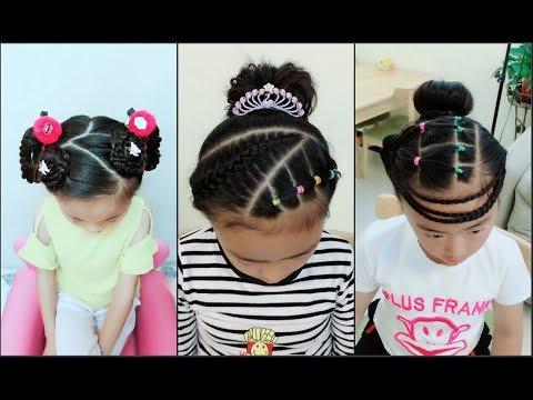 Hướng dẫn tết tóc cho bé gái đi học – Cute Little Girl's Hairstyle Tutorial