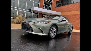 2019 Lexus ES  | The Staid Sedan Goes Sexy | TestDriveNow