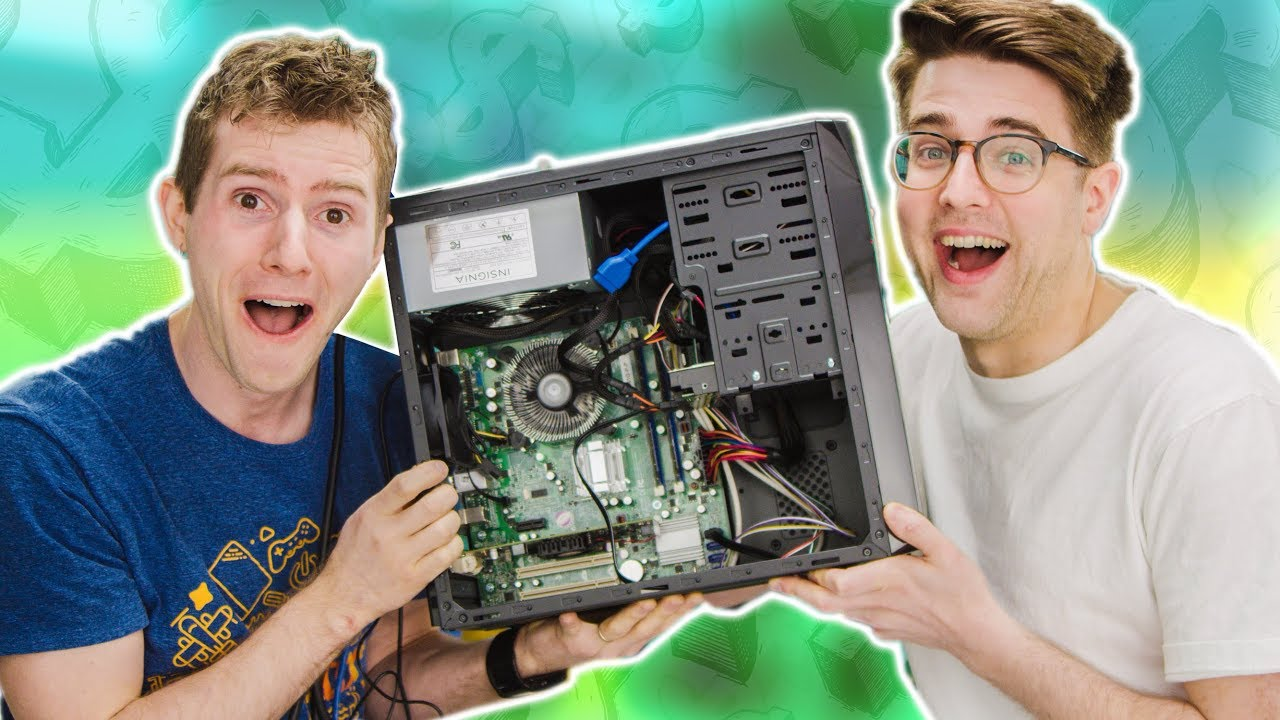 We Built the CHEAPEST PC on Amazon!