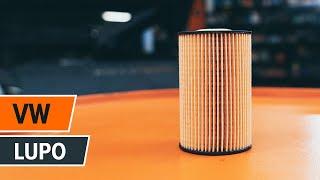 Comment remplacer Filtre à Huile VW LUPO (6X1, 6E1) - tutoriel