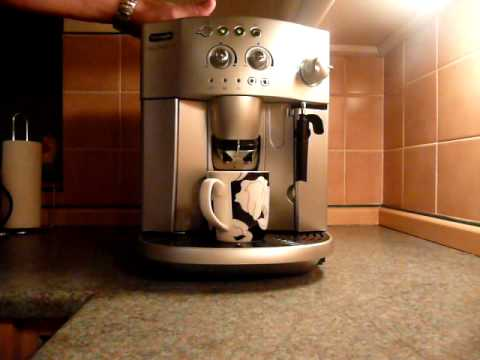 delonghi magnifica esam review automatic coffee machine espresso maker cappucino part 1 youtube