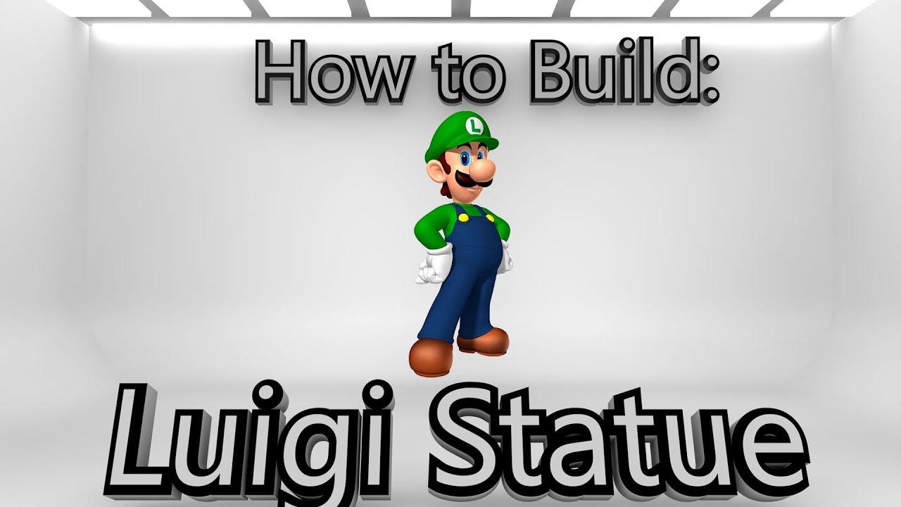 how to build luigi in minecraft