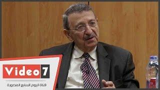 مصطفى السيد: البحث العلمى فى مصر سيصبح أحسن ما يمكن