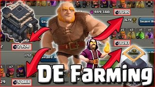 Live Raids! - TH9 Dark Elixir Farming - Giants and Wizards get the DE! - Clash of Clans