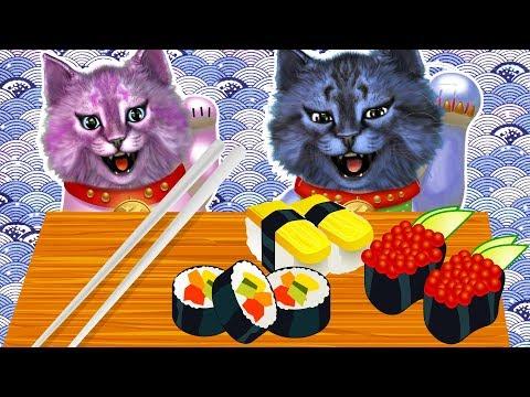 ПОЙМАЛИ РЫБУ ДЛЯ СУШИ! ЯПОНСКИЙ РЕСТОРАН В РОБЛОКС  Roblox Sushi Factory Tycoon