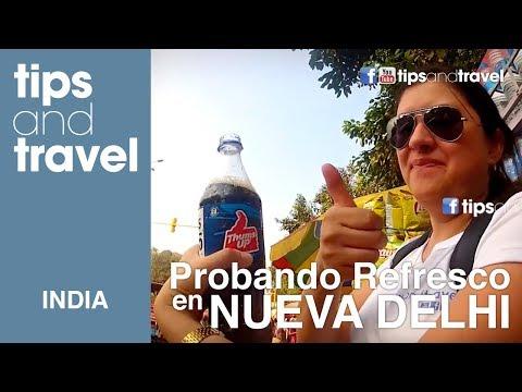 Probando bebidas en Dehli, India- Caos Nivel Dehli!!